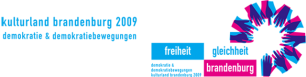 Logo Kulturland Brandenburg 2009