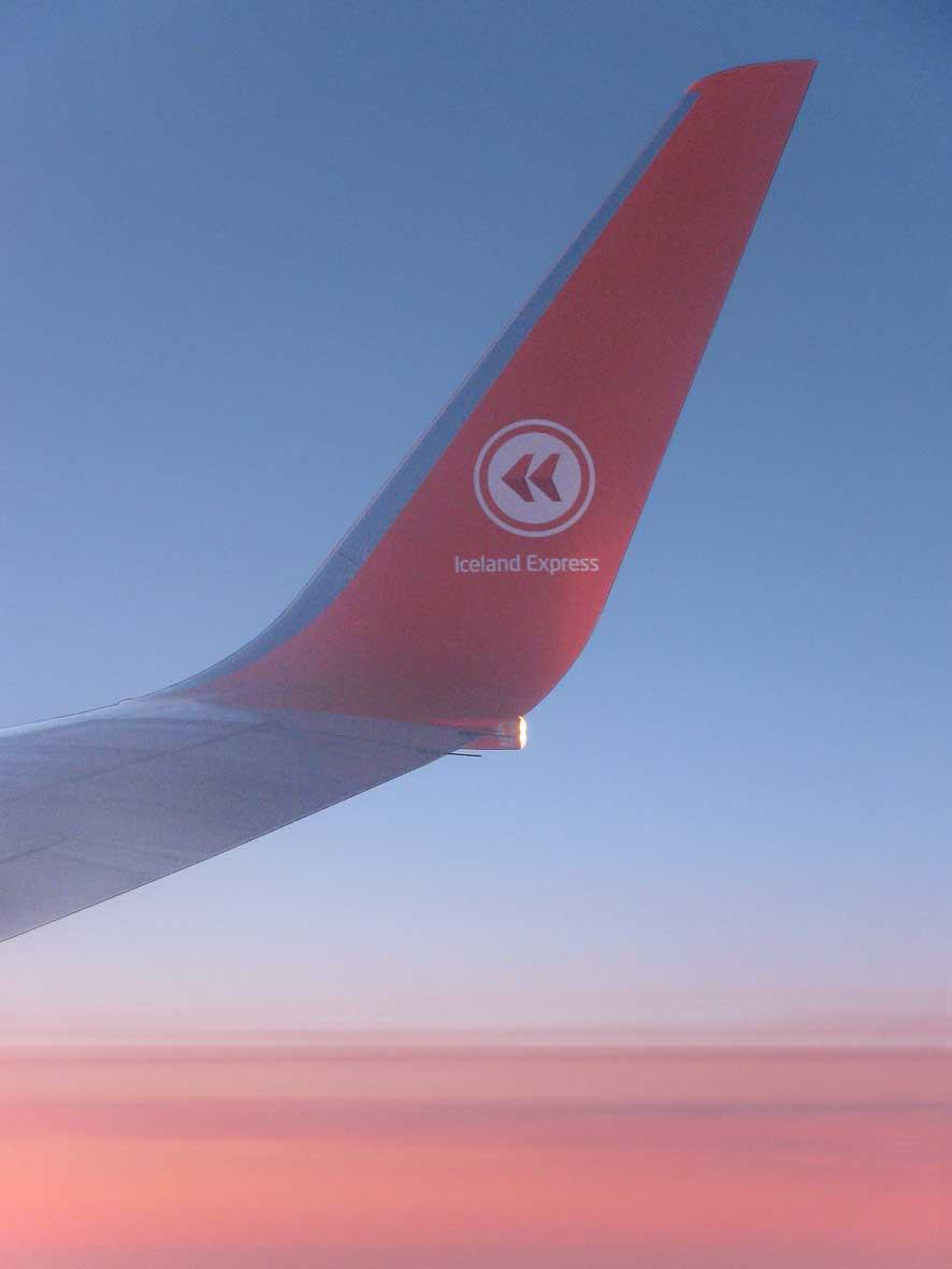 Mit Iceland Express der Sonne hinterher