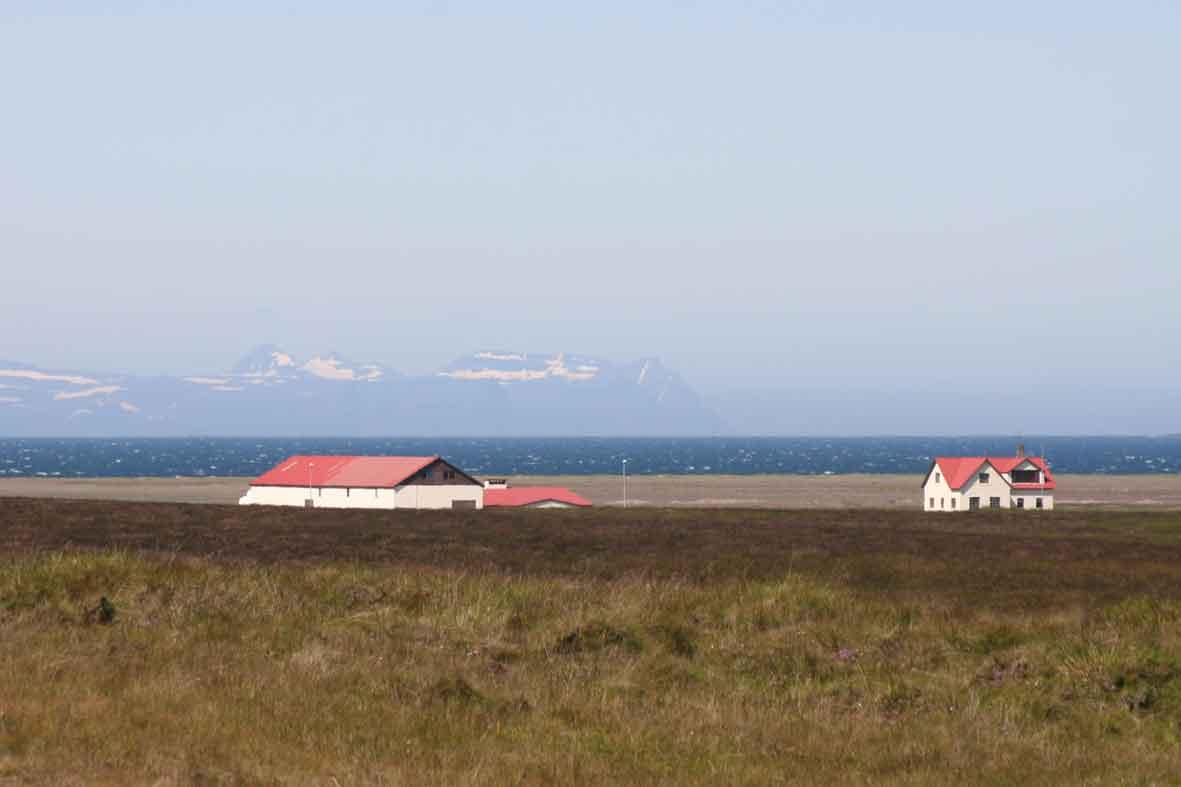 Bauernhof am Nordmeer