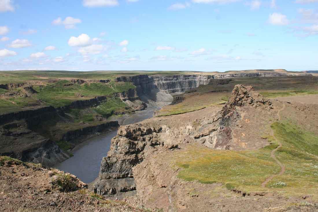 Canyon des Jökulsá