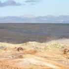 Schwefel mit Landschaft