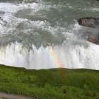 Mit Regenbogen