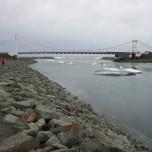 Brücke am Jökulsárlón