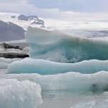 Blaues Eis III
