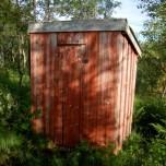 und die Toilette