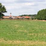 Blick nach Reesdorf