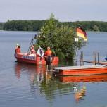 Wasserrettungsdienst am Schwielochsee