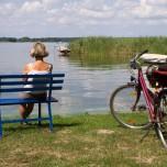 Rast auf der Radtour rund um den Schwielochsee