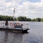 Überfahrt über die Spree mit Fähre Leißnitz
