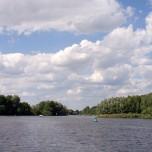 Spree bei Leißnitz in Richtung Beeskow