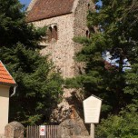 Kirche Zaue, Turm