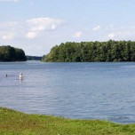 Hals - Verbindung zwischem Kleinen Schwielochsee und Großem Schwielochsee