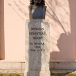Bach-Denkmal in Weimar