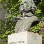 Puschkin-Denkmal in Weimar