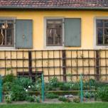 Arbeits- und Schlafzimmer Gothes von außen