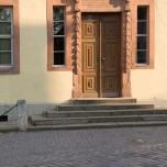 Früherer Eingang ins Goethehaus Weimar