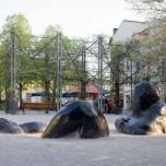 Versinkender Riese am Goetheplatz