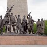 Buchenwald-Denkmal von Prof. Fritz Cremer in der Gedenkstätte Buchenwald
