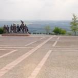 Weimarer Land mit Denkmal von Prof. Fritz Cremer