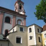 Detail der Stadtpfarrkirche