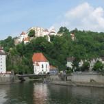 Zufluss der Ilz in die Donau