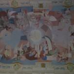 Deckengestaltung in der Kirche von Stift Engelszell