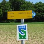 Wandermarkierung Donausteig