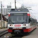 Zug von Eferding nach Linz