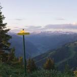 Alpenglühen in der Morgensonne