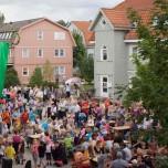 Astrid-Lindgren-Platz in Borkwalde