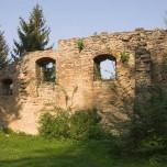 Ruine im Park an der Ilm