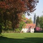 Blick zum Weimarer Stadtschloss