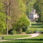 Blick zu Goethes Gartenhaus