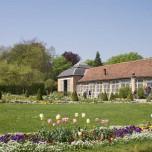 Blumengarten im Park Belvedere bei Weimar, Langhaus