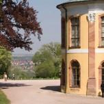 Blick ins Land, Schloss Belvedere