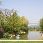 Blick ins Land vom Park Belvedere aus