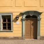 Haustür zu Schillers Wohnhaus in Weimar