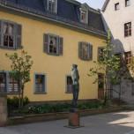 Rückseite des Schiller-Hauses in Weimar