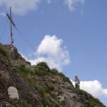 Gipfelkreuz auf dem Filzmooshörndl
