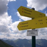 Grandiose Aussicht vom Filzmooshörndl (2189 m)