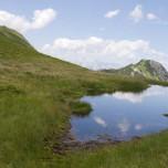 Bergspiegel - Sich spiegelnder Berg in Großarl