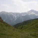 Blick in die Bergwelt