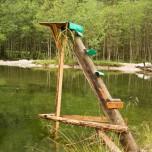 Anglerhochsitz am Ötzlsee