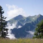 Über den Wolken in den Berge bei Großarl