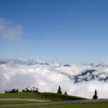 Über den Wolken bei Großarl