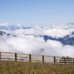 Oberhalb von Großarl und über den Wolken
