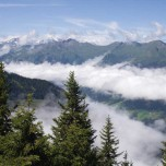 Über den Wolken bei Dorfgastein