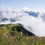 Über den Wolken zwischen Großarl und Dorfgastein