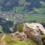 Blick vom Schuhflicker auf Dorfgastein