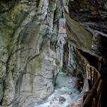 Tunnel in der Liechtensteinklamm